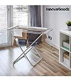 InnovaGoods etend'mieux étendoir électrique Pliable, Aluminium et ABS, Gris, 94x 79x 51cm