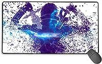 Sword ソードアート Art Online マウスパッド 大型 超大型 デスクマット ゲーミングマウスパッド アニメ キーボードパッド 防水 滑り止め 耐久性 おしゃれ マウス用パッド ズ オフィス/自宅兼用(サイズ:750mm;400mm;3mm)