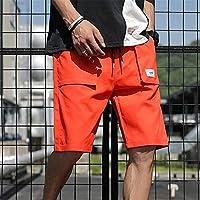 プラスサイズサマーカーゴショーツメンズコットンカジュアルショーツ男性ルーズショートカーゴパンツ