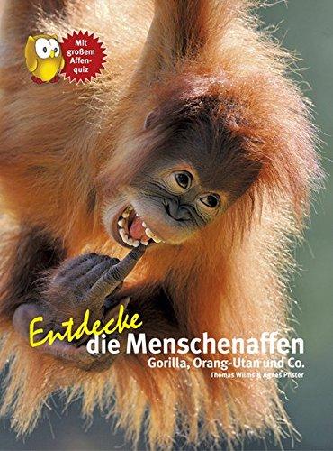 Entdecke die Menschenaffen: Gorilla, Orang-Utan und Co. (Entdecke - Die Reihe mit der Eule / Kindersachbuchreihe)