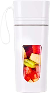 Portable Blender, Personal Size Blender Shakes and Smoothies, Travel Blender to go USB Rechargeable, 4-Blade 12oz Fruit Mixing Waterproof Small Portable Juicer Tritan BPA-Free Outdoor Picnic Home Gym