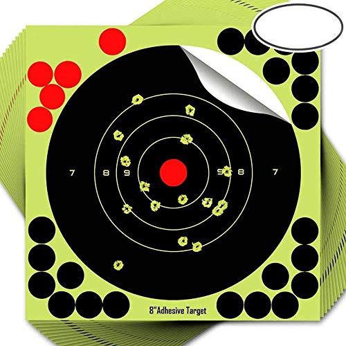 seabeatla 的紙 射撃 25枚 射撃ターゲットペーパー 射撃用紙 目標紙 弓矢用 シューティング アーチェリーターゲット 的用 練習 射撃用紙 ダーツ 体育運動