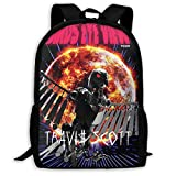 Kid's Schoolbag SICKO_Trav1s_Mode Backpack Schoolbags Water Resistant College Student Rucksack