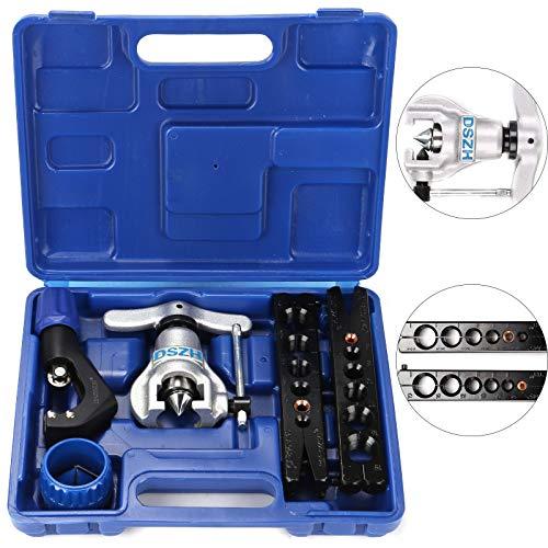 MorNon Bördelgerät Rohr Biegezange Bremsleitung bördeln Werkzeug Satz Klimaanlage für Verschiedene Leitungen