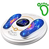 OSITO Circulation System & Nerve Muscle Stimulator - Improves Foot Circulation and Neuropathy, Relieves Feet Legs Pains, Relaxes and Massages Body with TENS Unit & EMS, Clinical-Proven Effective