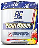 Ronnie Coleman Signature Series Yeah Buddy 30 Serve Pre-Workout Supplement, Strawberry Lemonade, 240...