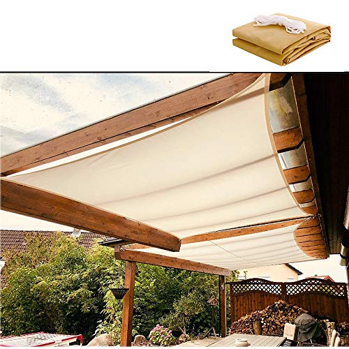 XYNH Pergola Canopy Sun Shade For Patio Cloth,waterproof,Heat Insulation,Awning Shelter Fabric,for Deck, Patio, Pergola, Backyard,Outdoor Shade Block