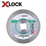Bosch Professional 2608615135 Disco Diamantato per Ceramica Dura, X-Lock, Extraclean Turbo...