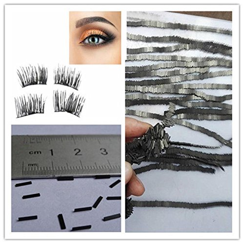 MEIYY Pinceau de maquillage Hot New 4Pcs Reusable-Magnet-Sheet-For-3D-Magnetic-False-Eyelashes-Extension-Handmade Dropshipping