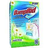 Damp Rid - Assorbitore di umidità, profumo fresco, 3 sacche