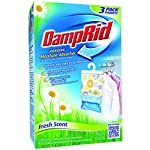 Damp Rid Hanging Moisture Absorber Fresh Scent 3-Bag 14 Ounces each (Pack of 1) 4 fresh flower scent