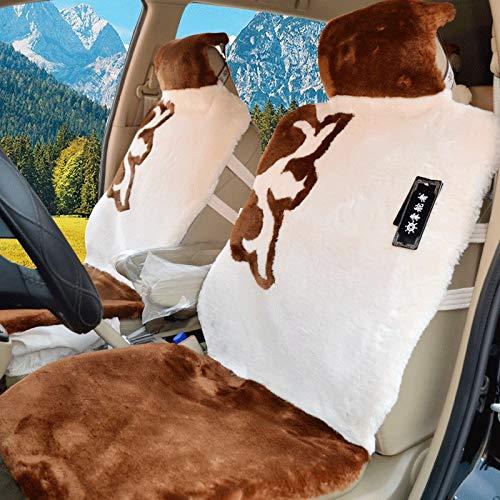 EELOVELY GM DREI set van kussens, wol kussens winter verenkussen, de zitkussens seizoenen voorplaat 5 volautostoel