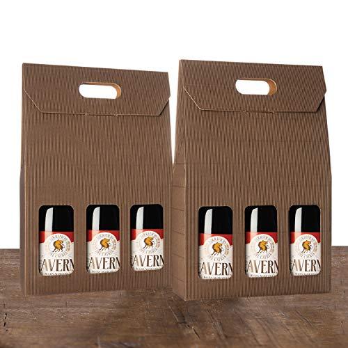 BIRRA ROSSA in stile Belgian Dark Strong Ale - Birra Artigianale Agricola - KLAVERNIA La bruna di Chiaserna - confezione da 6 bottiglie 75 cl cad. - confezione regalo e messaggio di auguri