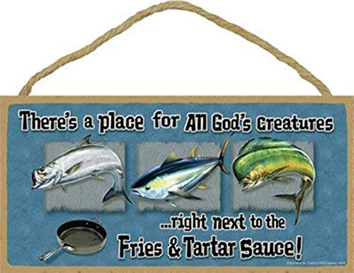 WEIMEILD There's a Place for All God's Creatures …Right Next to The Fries & Tartar Sauce (Ocean Fish) 5