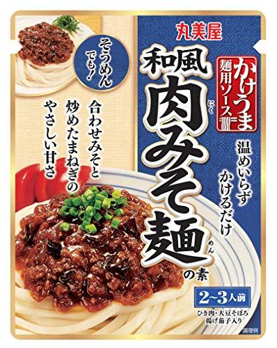 丸美屋 かけうま麺用ソース 和風肉みそ麺の素 260g×5個