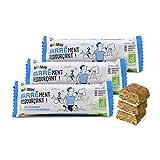 Carioni Food & Health Barrita energética de arroz inflado, Coco y Leche de Cabra - 40 gr (Paquete de 3 Piezas)