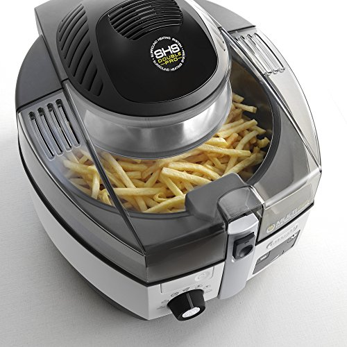 DeLonghi FH1394/1 MultiFry Heißluftfritteuse Extra Chef, 2400 W, weiß - 2