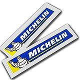 . Michelin Sponsor Grafiken Aufkleber Abziehbilder Motorrad Auto lang x 2