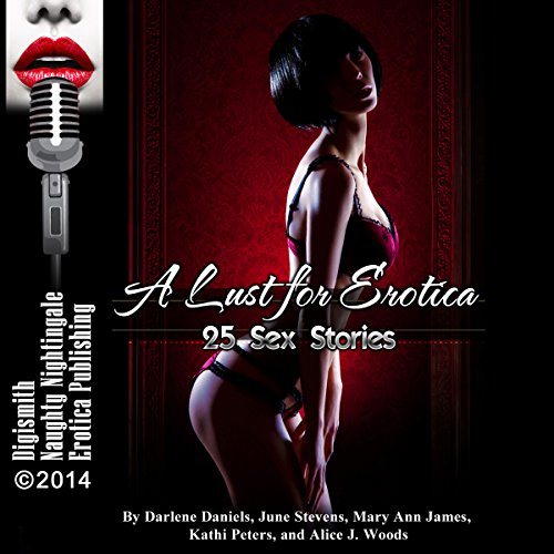 A Lust for Erotica audiobook cover art
