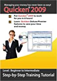 Quicken 2009 Home/Business Step-by-Step Training CD Course