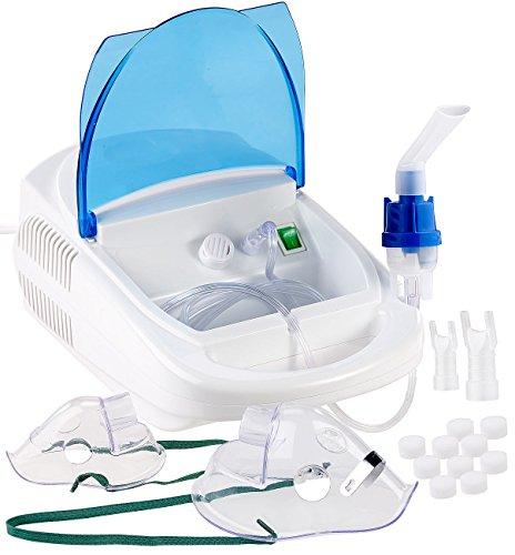 newgen medicals Inhalationsgerät: Medizinischer Tisch-Inhalator für Erwachsene und Kinder (Inhaliergeräte)