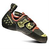 La Sportiva Men's OXYGYM Climbing Shoe, Carbon/Sulphur, 42.5