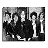 FINDEMO Julian Casablancas Poster Painting on Canvas Bedroom Wall Art Decoration Pictures Home Decor -196 (unframed,12x18inch)