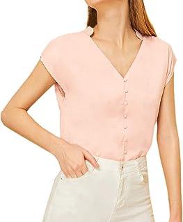 Amazon.es: Moda Blusas Elegantes - Beige