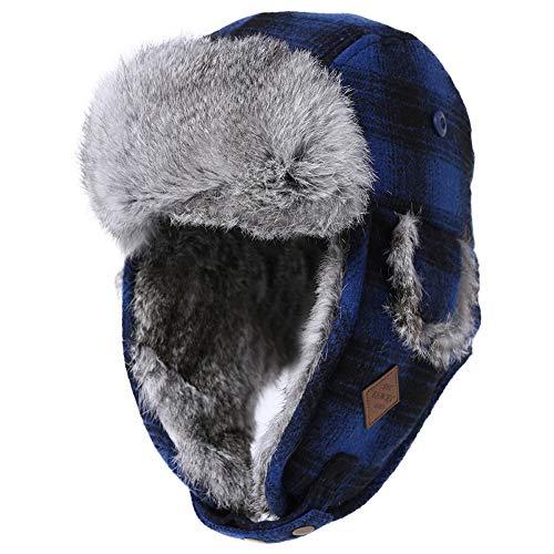 Comhats Winter Rabbit Real Fur Trap…