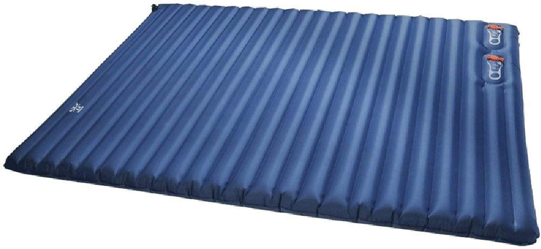 ZHqdc Luftbett-Camping Wandern Aufblasbares Bett Feuchtigkeitsgeschützte Luftmatratze Mit Eingebauter Luftpumpe Tragbare Einzel Camping Isomatte Camping Isomatte