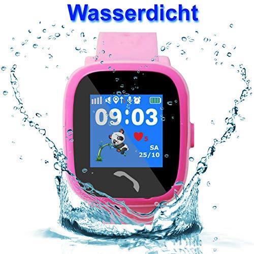 VIDIMENSIO GPS Telefon Uhr Kleiner Delfin - violett (Wifi), WASSERDICHT, OHNE Abhörfunktion Abbildung 3