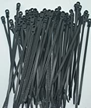Perfect Vision 100 Black MOUNTING Hole Cable TIE Zip Wraps 7 Satellite/Cable CT7BLK-MH
