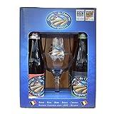 Bière - Coffret Queue de Charrue 4 bouteilles + 1 verre