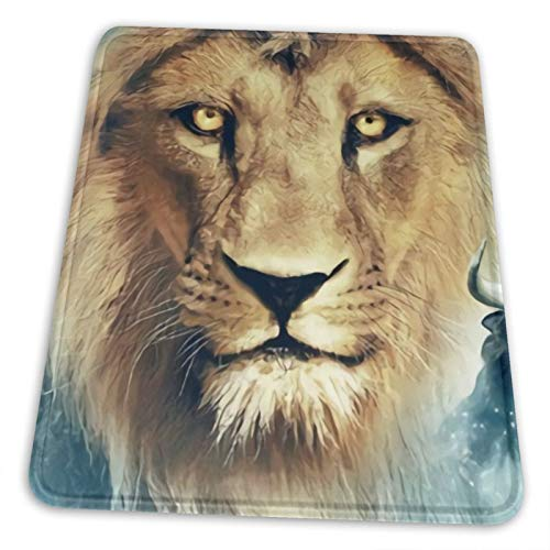 Yiriem Chronicle-S Of Narni-A Vertical Mouse Pad With Wrist Support Hard Non-Slip Rubber Base Mouse Mat For Laptop High Dpi Professional 10 X 12 Inch