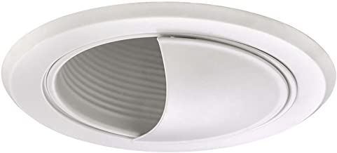White Airtight Wall Washer Trim for 5-Inch Recessed Cans