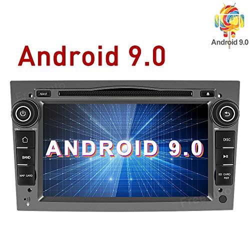Freeauto Android 9.0 - Radio estéreo Doble DIN para Coche para Opel 7 Pulgadas con Pantalla táctil en el salpicadero, GPS y navegación, Compatible con WiFi y Bluetooth