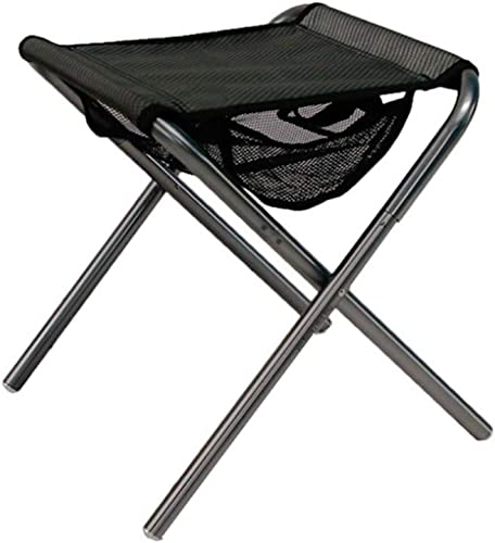 Yarmy Chaise De Pêche Pliable en Plein Air Ultra Légère Transportable Pliante Chaise De Camping Chaise De Pique-Nique avec Sac De RangeHommest