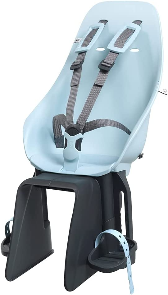 Urban Iki Rear Seat Bicycle for Children up to 6 Years - Front Children's Bicycle Seat for the Pannier Rack - Easy Assembly - Bicycle Seat up to 22 kg