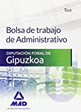 Bolsa de trabajo de Administrativo de la Diputación Foral de Gipuzkoa. Test