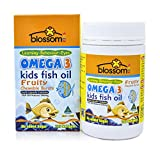 Blossom Health Kids Fish Oil Capsules, 125 count