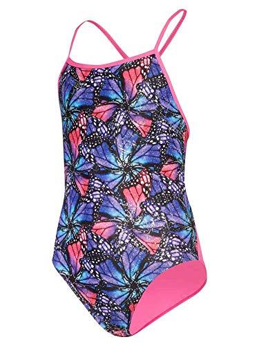 maru Mädchen Badeanzug Mariposa, Mädchen, Mädchen Badeanzug, Violett/Mehrfarbig, 76,2 cm