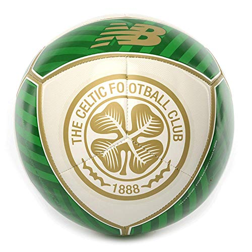 New Balance Celtic FC Dispatch Football Soccer Ball White/Green - 5