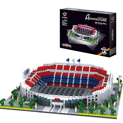 Puzzle 3D Estadio Camp NOU 3500 Piezas