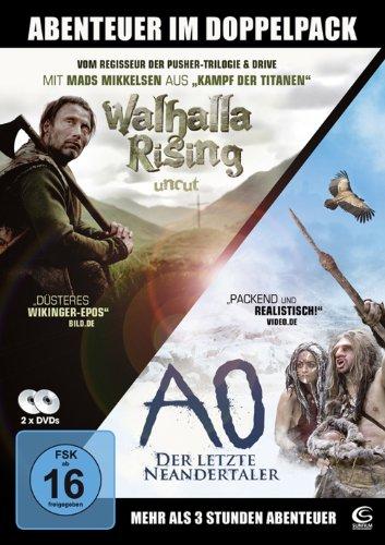 Die große Abenteuer-Box - 2 Abenteuer-Highlights in einer Box: Walhalla Rising, AO - Der letzte Neandertaler [2 DVDs]