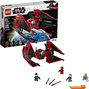 LEGO Star Wars Resistance Major Vonreg's TIE Fighter 75240 Building Kit (496 Pieces) - 51hfiYCXvTL - LEGO Star Wars Resistance Major Vonreg's TIE Fighter 75240 Building Kit (496 Pieces)