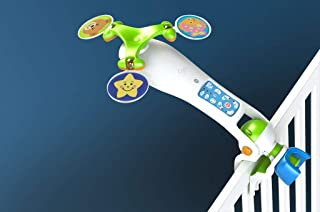 Nurture Smart Baby Crib Mobile & Toy for Babies Under 5 Months - Features Record & Play Option - Bed Decoration Toy - Travel-Friendly - Keeps Your Baby Relaxed - Easy Parenting - Attaches to Bassinet