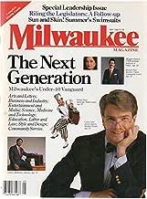 Milwaukee Magazine, vol. 11, no. 5 (May 1986) (The Next Generation: Milwaukee's under-40 Vanguard) (cover: Colin Cabot, Robin Pluer, Charles McKinney, Margery Deutsch, Ricardo Diaz): Paul Cebar, etc.