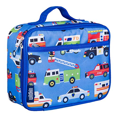 Wildkin Kids Insulated Lunch Box for Boys and Girls, Perfect Size for Packing Hot or Cold Snacks for School and Travel, Patterns Coordinate with Our Backpacks and Duffel Bags, Heroes