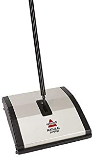 Bissell Natural Sweep Carpet and Floor Sweeper with Dual Rotating System and 2 Corner..