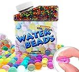 Bolas de Gel de Agua, Bolas de Gel para Decoración, 50 000pcs Perlas de Agua, Hidrogel Bolas,...